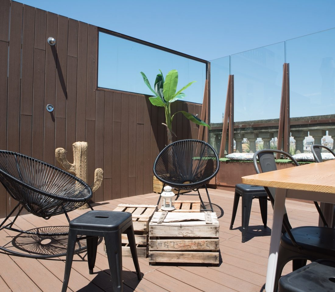 Rooftop Terrace Barcelona