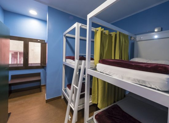 4 Beds Mixed Dorm - Kabul Hostel